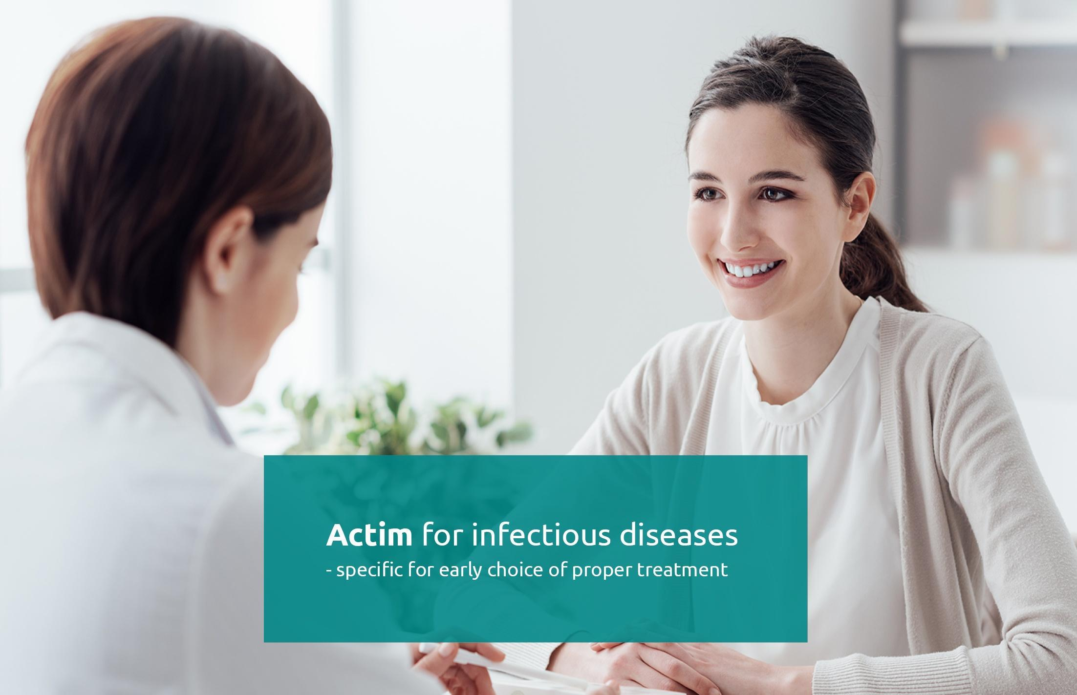 Actim for infectious diseases 2020