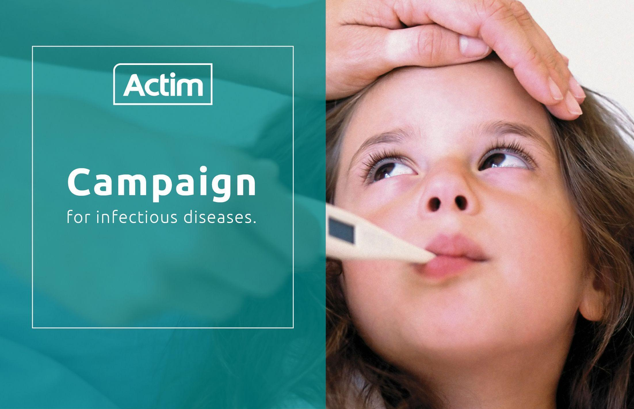 Actim campaign for infectious diseases 2020