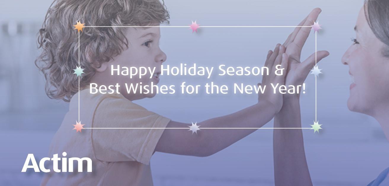 Actim Holiday greeting